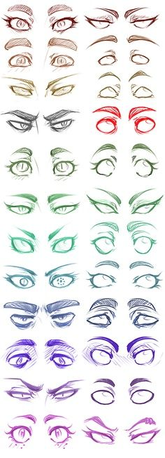 eyes-drawing-draw-yeux-colors