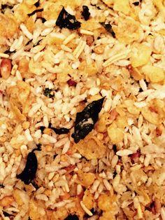 Homemade Chivda (Poha)