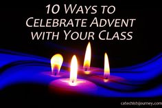 10 Ways to Celebrate Advent with Your Class—Without Rushing to Christmas (And Your Chance to Win a Dear Pope Francis Family Kit) Sunday School, Middle School, High School, Advent Prayers, Advent Activities, Catechist, Advent Season, Religious Education, Pope Francis