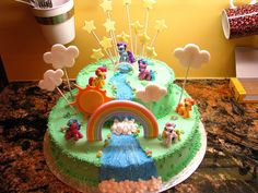 My Little Pony Cake Designs | pony cake i was told to make this cake as flamboyantly my little pony ...