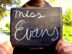 Graduation/Senior picture for a teacher! :)