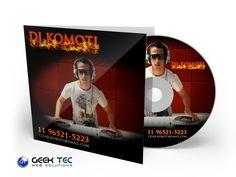 Capa e Adesivo de CD - DJ KOMOTI
