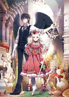 ☆ Anime ☆ By Nardack Couple Anime Manga, Manga Anime, Manga Art, Anime Chibi, Anime Kawaii, Disney Marvel, Anime Style, Ange Demon, Image Manga