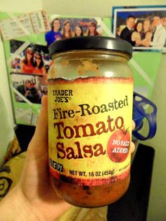 Trader Joe's Fire-Roasted Tomato Salsa on Friday's Favorite Finds - Hungry Gator Gal