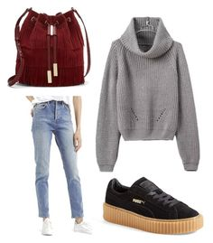 A fashion look from November 2015 featuring long-sleeve shirt, white jeans and creeper shoes. Browse and shop related looks. Keep It Simple, Vince Camuto, Topshop, Polyvore, Image, Fashion, Moda, Fashion Styles, Fasion