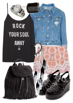 """Untitled #466"" by hadar777 ❤ liked on Polyvore featuring Topshop, H&M, Etro, Essie, Anni Jürgenson and Miss Selfridge"