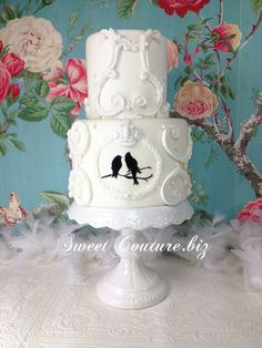 Sweet Couture Love Birds Cake