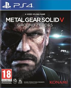 Metal Gear Solid : Ground Zeroes Jeux Xbox One, Xbox 1, Xbox One Games, Ps4 Games, Playstation Games, Games Consoles, Arcade Games, Metro 2033, Metal Gear Solid Ps4
