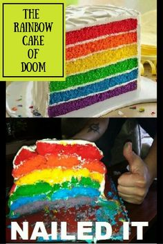 Read about my adventures baking The Rainbow Cake of Doom for my daughters 3rd…