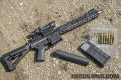 Beck 510 with .510 rounds and Gemtech's 510 Beck suppressor.