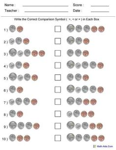 best worksheet creator images  homeschool math activities math  worksheet creator for money you can customize the coins that you include  and the