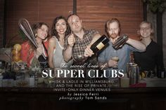 The Secret Lives of Supper Clubs | The Aesthete