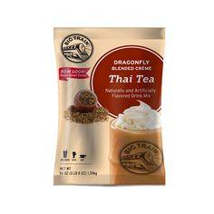 Thai Tea iced Drink/Beverage/Frappe Mix powder 3.5 lb Bag wholesale supply | Dragonfly Big Train