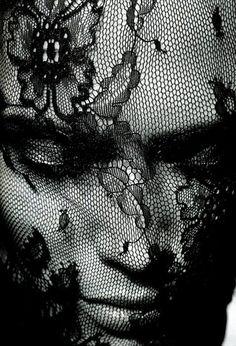 #woman in #black #photo