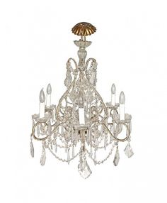 French Crystal Marie Therese Chandelier
