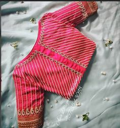 Latest blouse back neck designs - The handmade craft Saree Blouse Neck Designs, Simple Blouse Designs, Stylish Blouse Design, Bridal Blouse Designs, Blouse Patterns, Work Blouse, Boutique, Hand Designs, Marriage