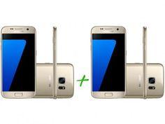 Smartphone Samsung Galaxy S7 32GB Dourado - 4G + Smartphone Samsung Galaxy S7 32GB Dourado 4G com as melhores condições você encontra no Magazine 233435antonio. Confira!