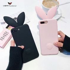 Cute Cat Mustaches iPhone Covers and Lovely Simple Rabbit Ears – Touchy Style Compatible iPhone Model: iPhone 7 Plus,iPhone 6 Plus,iPhone plus,iPhone Cheap Phone Cases, Cute Phone Cases, Iphone Phone Cases, Iphone 7 Plus Cases, Iphone Lens, Kawaii Phone Case, S8 Phone, Phone Covers, Capas Iphone 6