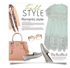 """""""Fall Style With The RealReal: Contest Entry"""" by smiljana-s ❤ liked on Polyvore featuring Prada, Chanel, Burberry, Chloé and Roberto Cavalli"""