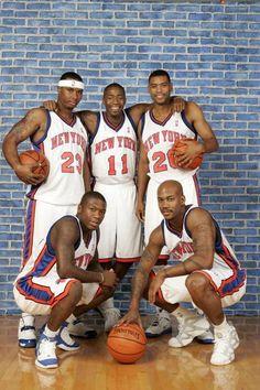 2005 NY Knicks Guards.