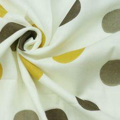Birch - Bio Double Gauze - Pop Dots - Golden Napkin Rings, Birch, Napkins, Fabrics, Dots, Design, Home Decor, Tejidos, Stitches