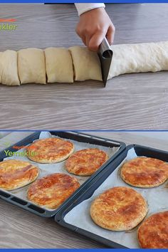 Taco Pizza, Turkish Recipes, Griddle Pan, Feta, Bakery, Food And Drink, Appetizers, Yummy Food, Cooking