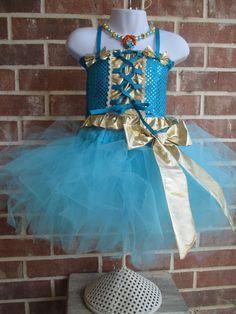 Merida the Brave Costume by TheIndigoPrincess on Etsy, $48.00