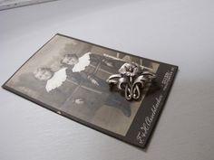 アールヌーボー花のブローチ SV.800 - Maison Irisee Bis