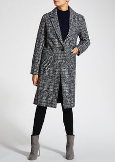 Prince of Wales Check Coat