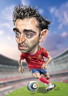 Xavi - Barcelona Football Club