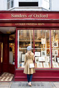 The best shopping in Oxford, England // Via Stacie Flinner