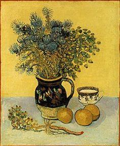 1888 Vincent Van Gogh   Nature morte  Huile sur Toile    55x46 cm  Merion Pennsylvanie, Barnes Foundation