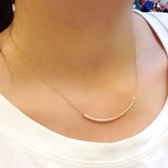 NK2075 New Hot Fashion Punk Minimalist Arc Bent Empty Tube Bar Smile Chain Short Clavicle Necklace For Women Jewelry Girl Gift #Punk fashion http://www.ku-ki-shop.com/shop/punk-fashion/nk2075-new-hot-fashion-punk-minimalist-arc-bent-empty-tube-bar-smile-chain-short-clavicle-necklace-for-women-jewelry-girl-gift/