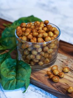 bagte kikærter Chickpea Snacks, Healthy Snacks, Healthy Recipes, Veggie Recipes, Dog Food Recipes, Snack Recipes, Tapas, Yummy Eats, Yummy Food