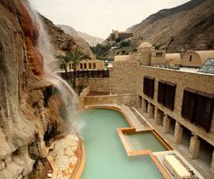 Evason Ma'In Hot Springs & Six Senses Spa, Ma'in, Jordan | Jordan travel