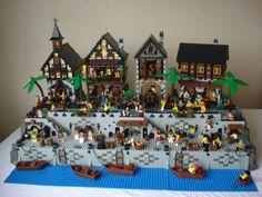 Port Gaverne: A LEGO® creation by Luke Watkins : MOCpages.com