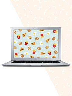 Junk food desktop wallpaper - free download!