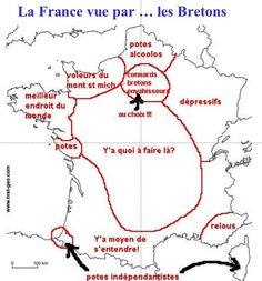 Quotes for Fun QUOTATION - Image : As the quote says - Description La France vue par les Bretons Sharing is love, sharing is everything
