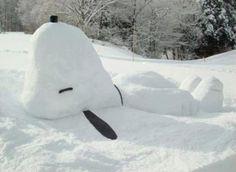 Best snowman ever!!!!!!