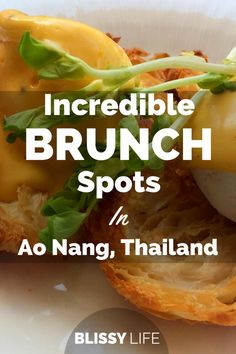 Here are a few of our favorite breakfast spots in Ao Nang, we hope you get the chance to check them out!