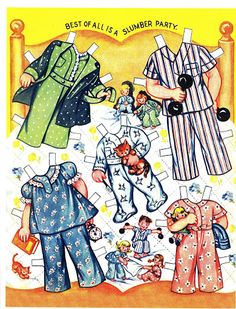 Paper Dolls~Busy Buddies - Bonnie Jones - Picasa Web Albums