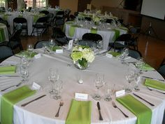 Wedding Reception Head Table Setup | Guestbook Table And Gift Table Were  Set Up At The