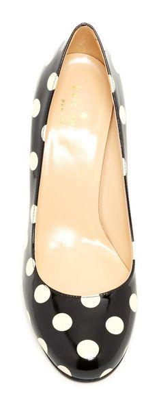 Polka Dot Heels - LOVE!! #dots