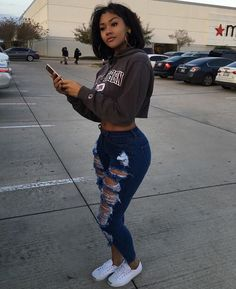 Black girl swag outfits beautiful black women, ideas about stylish sw Swag Girl Outfits, Dope Outfits, Fall Outfits, Casual Outfits, Lit Outfits, Swag Girl Style, Dope Girl Swag, Casual Wear, Teenage Outfits
