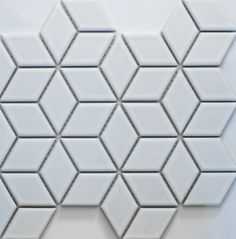 Academy Tiles - Ceramic Mosaic - Diamond Mosaic - 83408 Q: Can we find sheets of this pattern? Easier to install!