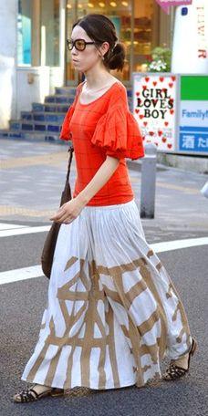 Youthful Bohemian Street Style in Japan