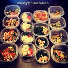 .@busygirlseatclean | Meal Prepping for the week! Maria and I have decided to really buckle down an...