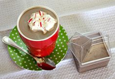 APPLE A DAY: Homemade Peppermint Mocha Creamer *Tried to make my own but this will never compare to coffee mate. The cocoa kept sinking to the bottom.