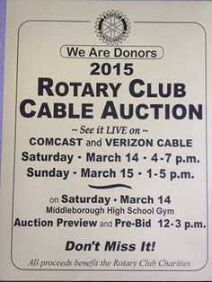 rotary auction 2015 Rotary Club, My Town, High School, Auction, Personalized Items, Grammar School, High Schools, Secondary School, Middle School
