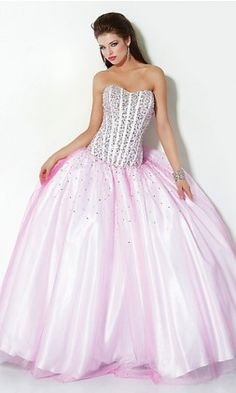Ball Gown Tulle Sweetheart Long Dress